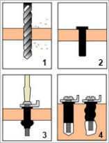 How to install rubber